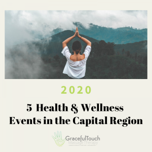 health and wellness events Capital Region